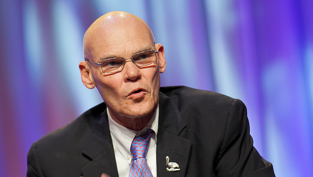 James Carville SC Did TV news miss point in covering stimulus plan?