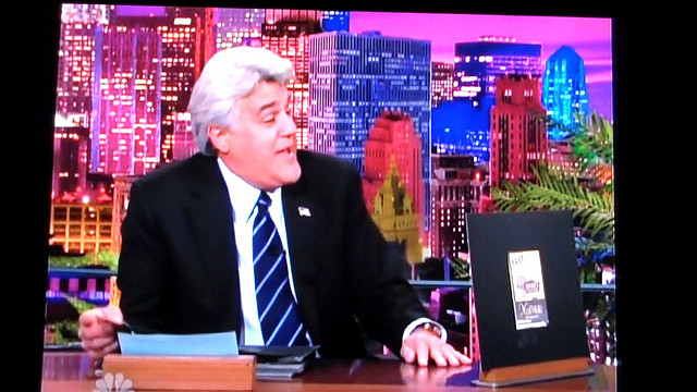 Jay Leno SC After Two Weeks, Still No Late Night Obama Humor