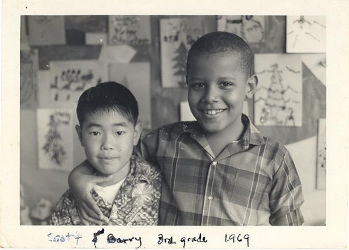 Pictured:  Scott & Barry, 3rd grade 1969 Punahou School in Hawaii.
