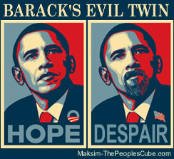obama evil twin Elections Reflect Degenerative Culture