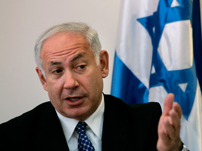 benjamin netanyahu Israel leader says Iran key issue, not settlements