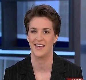 rachel maddow27 300x279 The Top 50 Liberal Media Bias Examples