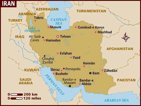 map_of_iran