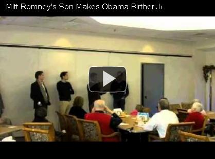 Vid-RomneySonBirtherJoke