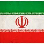 Grunge Iranian Flag