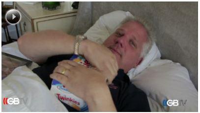 Glenn Beck in Bed