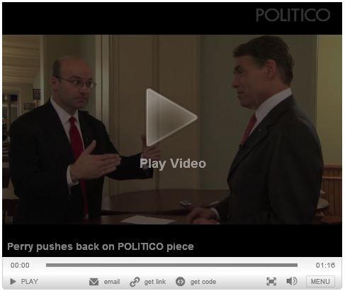 Perry Confronts Politico