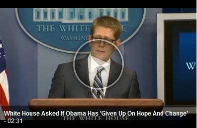 Vid-ObamaGaveUpOnHopeNChangeRight