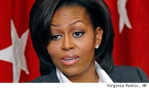 michelle obama9537 300x179 Mrs. Obama: Say Goodbye To The King Sized Snickers Bar