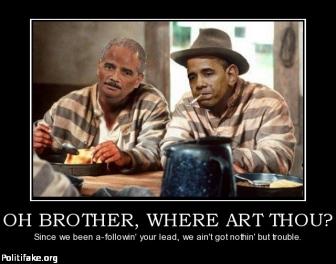 obama being  put in jail
