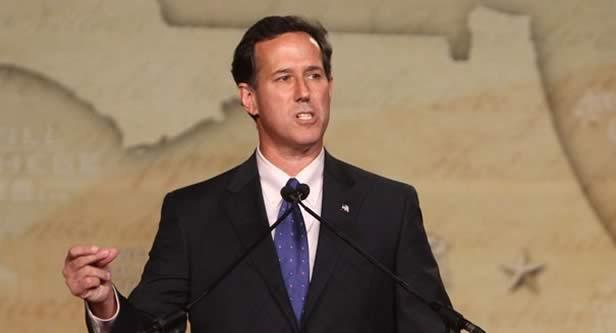 rick santorum8532 Santorum Challenges Romney In Michigan Speech
