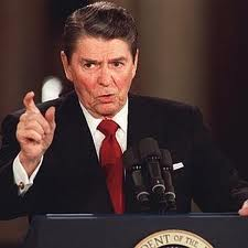 Reagan-point from podium