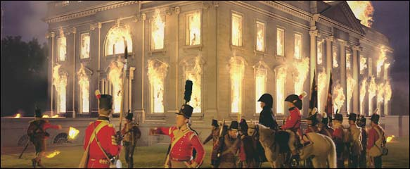 Burning the American Presidential Palace