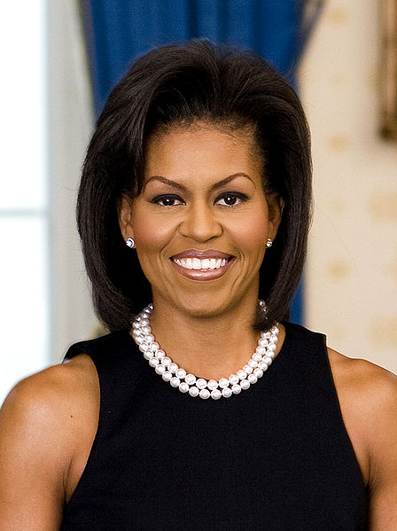 448px Michelle Obama  Michelle Obama sets sights on cartoon characters