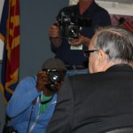 Sheriff Joe Being Photographed By The Media At His Press Conference 3-1-2012