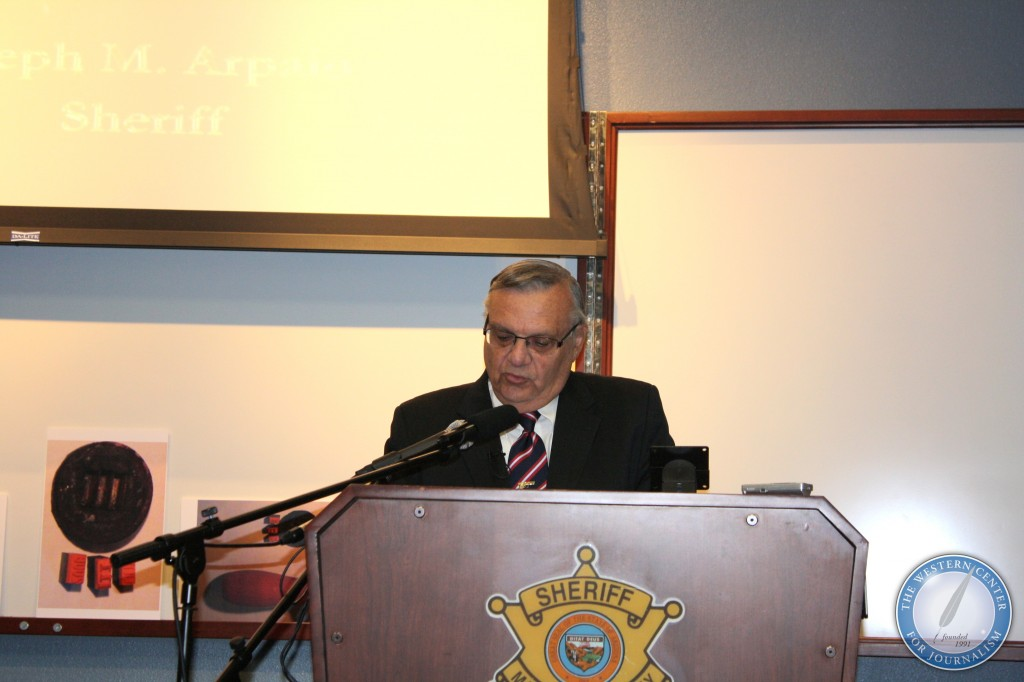 531 l1 1024x682 Photos from Sheriff Joe Arpaios News Conference on Barack Obama Birth Certificate
