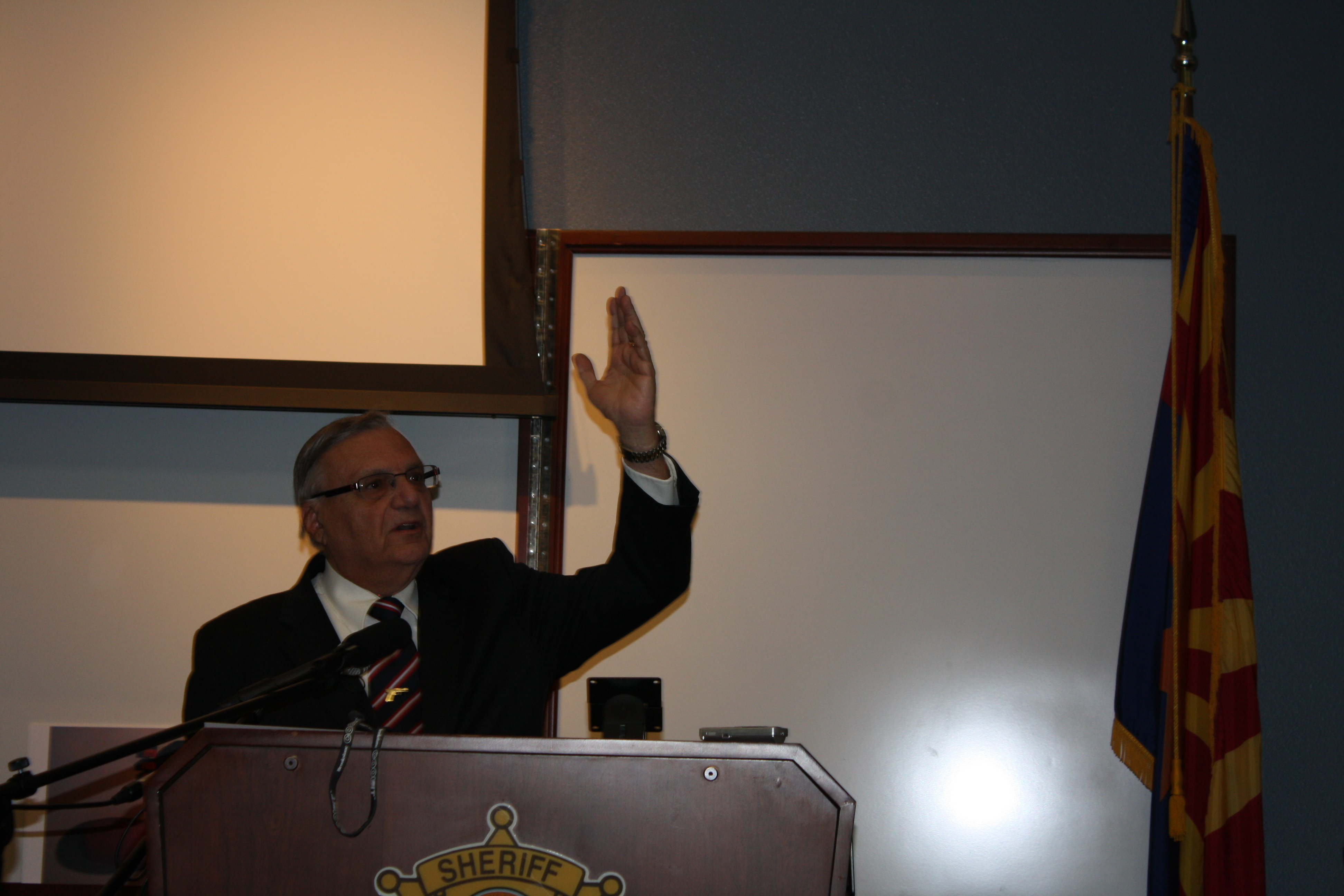 Sheriff Joe Arpaio Conference 1 SC