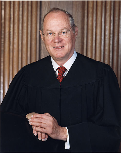 Anthony Kennedy SC Justice Kennedy denies motion to halt gay marriage