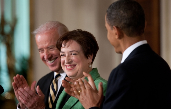 Barack Obama Elena Kagan SC Elena Kagan Breaks Federal Law By Hearing ObamaCare Case, Republicans Silent