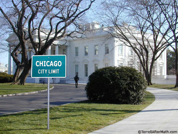 Chicago White House Someone has registered to vote as Barry Soetoro, 1600 Pennsylvania Ave; when will we see an arrest?