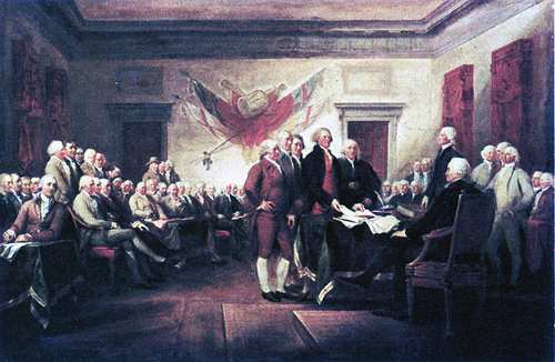 Declaration of Independence SC Are we screwing up by ignoring the Declaration of Independence?