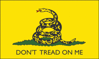 "Dont Tread on Me1 Democrat storm troopers find Gadsden flag ""offensive"""