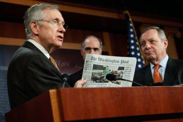 Harry Reid 2 SC Senate Democrats facing a disaster Come November