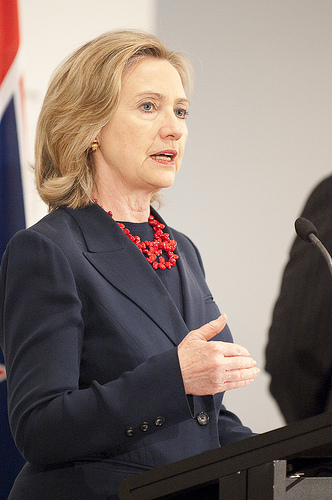 Hillary Clinton speech 8 SC Final UN Arms Trade Treaty Disarms America With Clinton's Signature