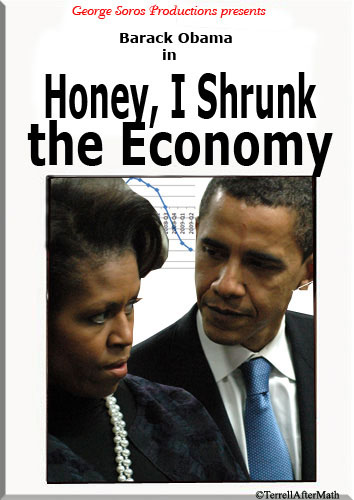Honey I Shrunk The Economy SC On fifth anniversary of fiscal crisis, the economy grows worse