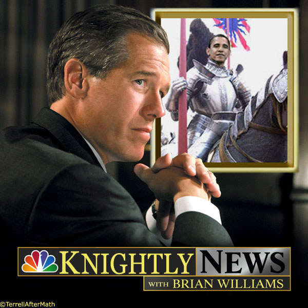 "Knightly News Brian WIlliams Obama SC His own daughter's graphic HBO sex scenes fill Brian Williams with ""Unmitigated joy"""