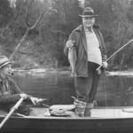 Herbert Hoover Fishing
