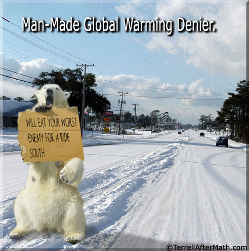 Man Made Global Warming Denier SC To Everything, There Is A Season