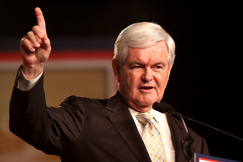 Newt Gingrich 4 SC Newt to Mitt: Invite Palin to convention