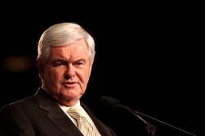 Newt Gingrich speech 2 SC 300x199 Top Super PAC donor says Newt At the end of his line