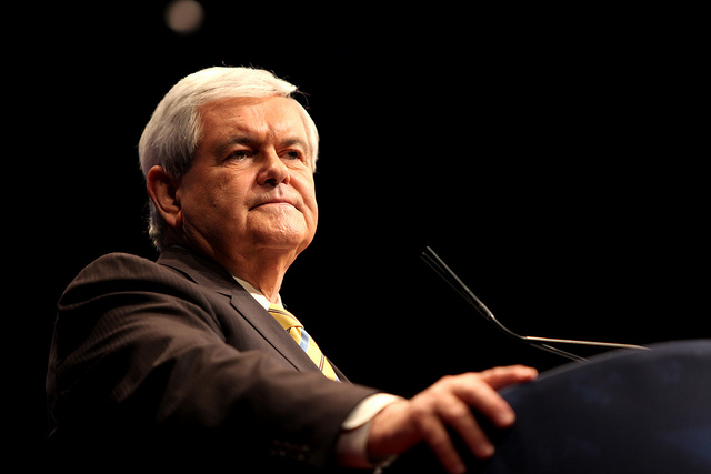 Newt Gingrich An interesting approach toward defeating Team Obama