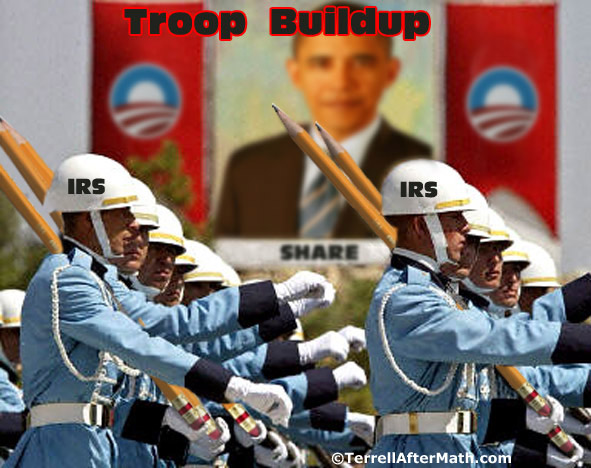 Obama IRS Troop Buildup SC IRS Targets Tea Party, Constitutional Groups With Extra Scrutiny