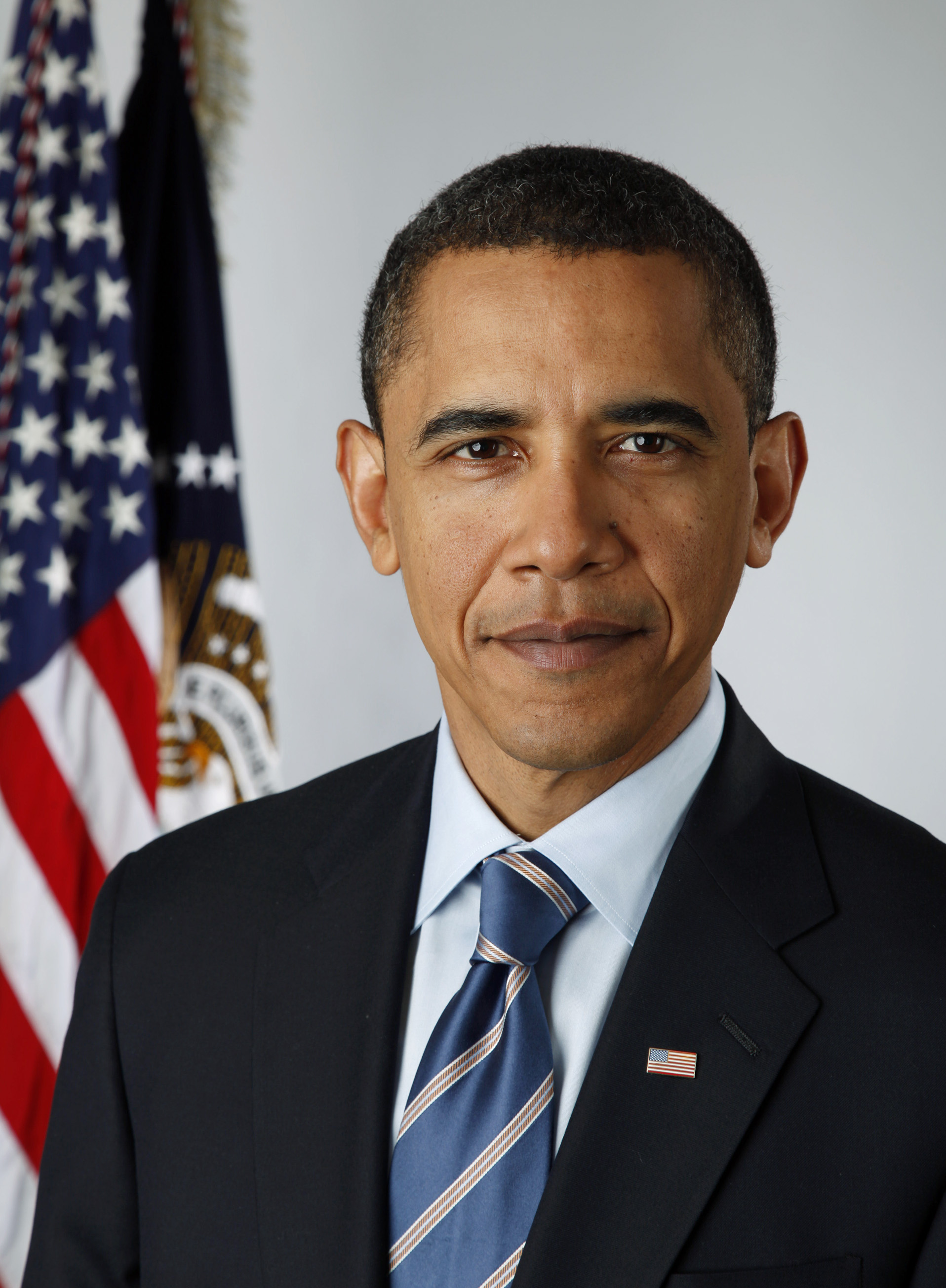 Obama Official Portrait SC