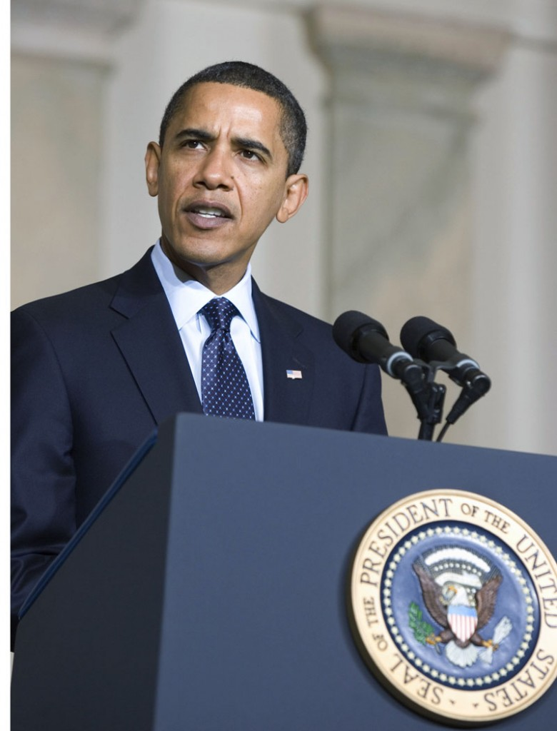 Obama Presidential Seal Podium Speech SC