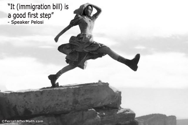 Pelosi Immigration Bill Big First Step SC Senate passes immigration bill