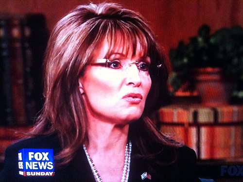 Sarah Palin 4 SC Palin says Rices view on abortion shouldnt disqualify her as VP