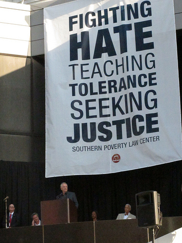 Southern Poverty Law Center sign SC