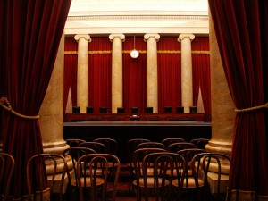 US Supreme Court room SC 300x225 Supreme Court upholds key part of Arizona immigration law, strikes down rest