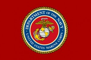 USMC flag SC 300x197 Marine sergeant faces discipline for Facebook critique of Obama