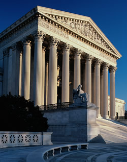 US supreme court building SC Is Defining Marriage the Courts Job?