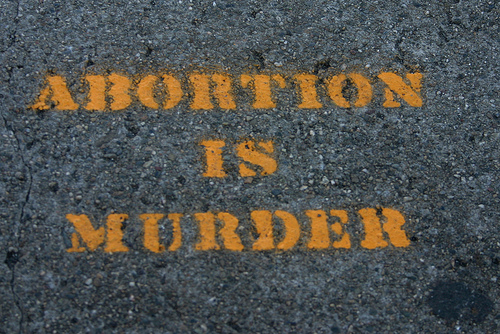 abortion is murder Concentration Camps, Abortion Clinics, and Selective Ignorance