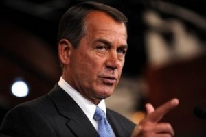 boehner42719 300x200  Senate Republicans and Boehner Unite Against Conservatives