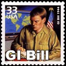 gi bill stamp SC