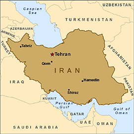 iranmapbrown SC War With Iran Is Coming