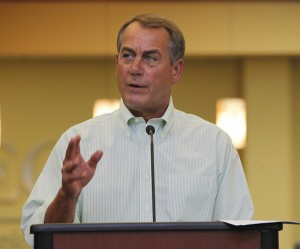John Boehner 2 SC 300x249 GOP leaders seize on weak jobs report to batter Obama