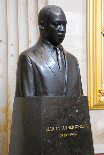 Martin Luther King Jr. statue SC